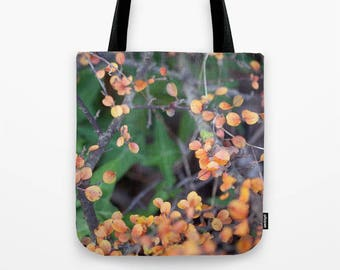 Floral Tote Bag, Baby Bag, Unique Tote Bag, Yoge Tote Bag, Market Tote, Shoulder Bag, Shopping Bag, Leaf Tote Bag, Fall Leaves Totebag