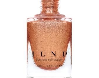 Checkmate - Orange Copper Ultra Metallic Bright Nail Polish