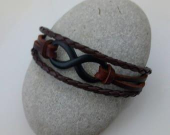men's infinity bracelet