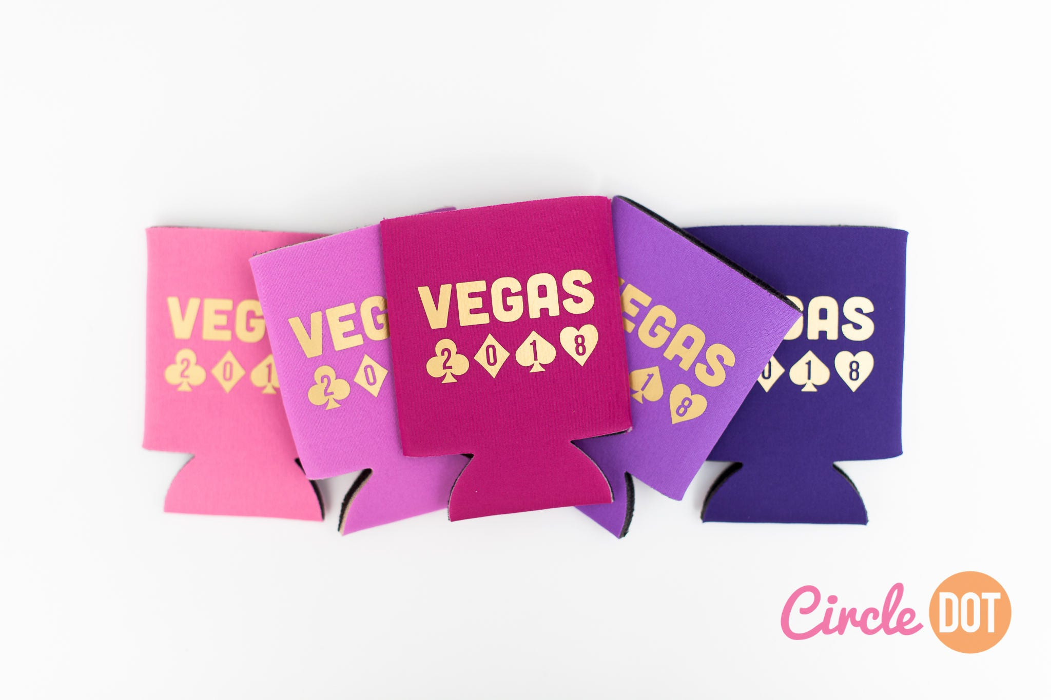 Vegas 2018 Beer Can KOOZIE® Personalized Soda Can Hugger for