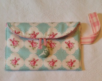 Clutches-cell door, Tanya Whelan, fabrics floral pattern