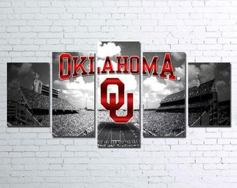 Oklahoma Sooners 5pc Canvas Set