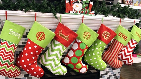 personalized christmas stocking monogrammed christmas stockings christmas stockings personalized family christmas stocking xmas stockings - Xmas Stockings