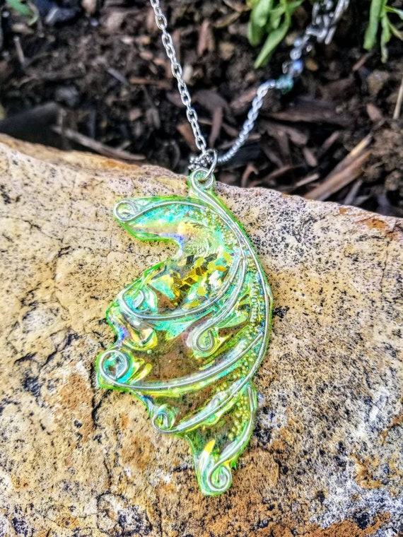 Fairy Wing Necklace - Spring Twig