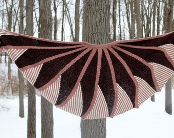shawl Short rows fantasy