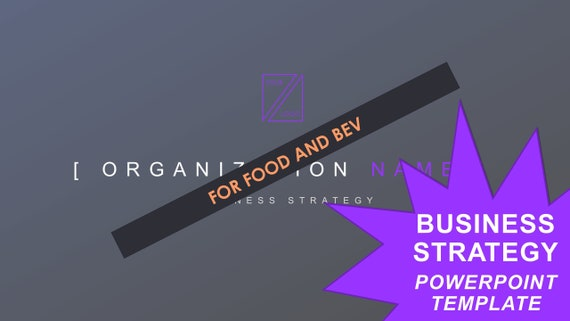 Business Strategy Template - Food & Bev