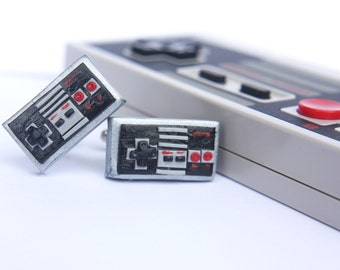 Nintendo Controller Cuff links - NES Cuff links - Gamer jewelry - Fathers Day Gift - NES - Gamer fashion - Gamer Cuff links - Video Games