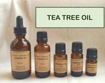 25% OFF! Tea Tree Oil (Organic)