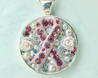 Charity Ribbon Pendant