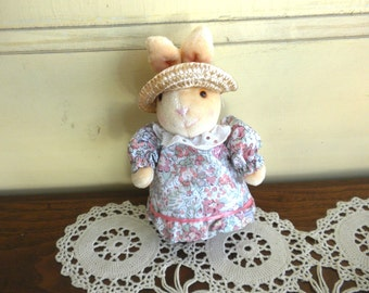 Stuffed  Mrs. Bellamy Easter Bunny Pomander