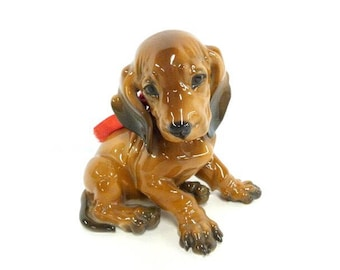 Vintage Rosenthal Dachshund Puppy Collectible