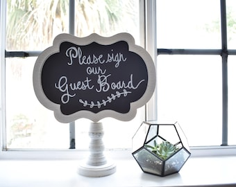 Wedding Decor, Wedding Sign, Table Decor, Vintage Wedding, Rustic Wedding, Guestboard Sign, Chalkboard Sign, Calligraphy