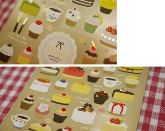 Paper Stickers (P185.05 - Patisserie)