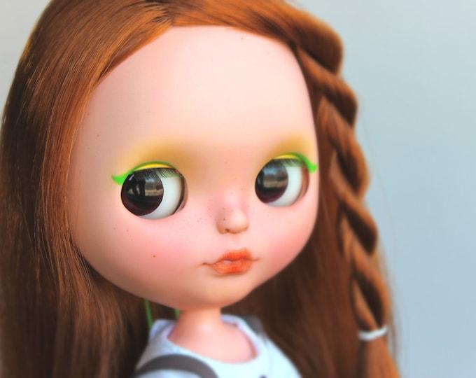 SALE! Freesia – OOAK Custom Blythe doll by Helenaaa