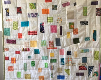 Confetti baby sized quilt