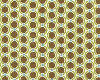 Joel Dewberry - Modern Meadow - Acorn Chain in Timber - cotton quilting fabric - by the YARD cut