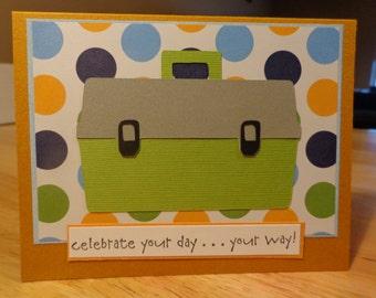 Tacklebox or toolbox card