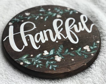 Thankful round