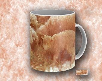 Sheep. Underhill Vermont. Mugs