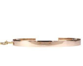 Thin Gold Metal Belt