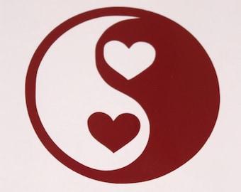 Yin & Yang Vinyl Decal