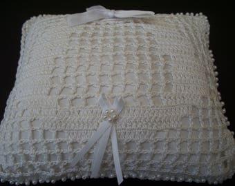 Unique Horseshoe Ring Pillow