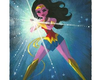 Wonder Woman Power! - Print