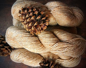 Peace Fleece - Palomino worsted weight wool yarn