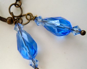 Blue Nile Earrings, Sky Blue Earrings