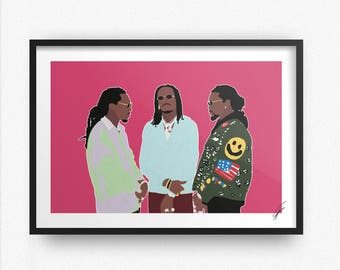 Migos INSPIRED Print / Poster