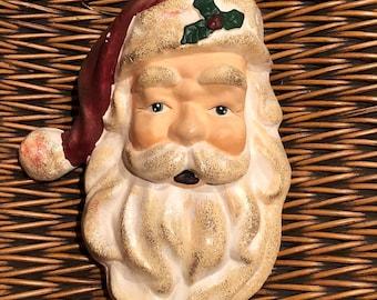 Santa, Wall Hanging, Christmas Decorations