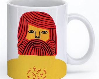 Ginger Me Timbers Mug Mug by Colin Walsh