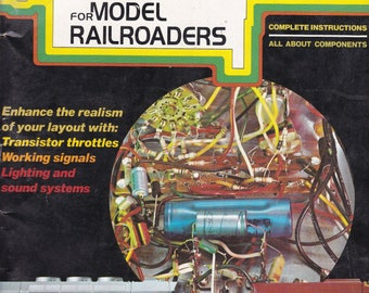 Practical Electronic Projects for Model Railroaders 1975 Magazine Book
