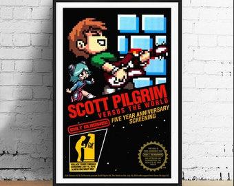 Scott Pilgrim v. The World 11 x 17 Art Print