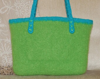 Felted City Bag to Crochet PDF Pattern Instant Download