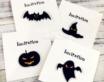 Invitation Card for Halloween