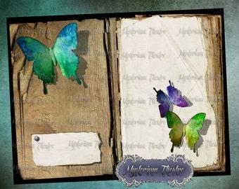 Digital Journal Butterfly Garden Book Kit 8.5x11