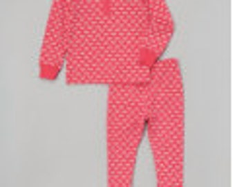 Lobster Jammies Pink and White