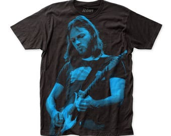 Impact Icons David Gilmour Soft Fitted 30/1 Cotton Subway Tee
