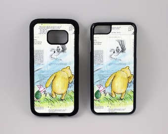 Phone Case of Winnie the Pooh and Piglet