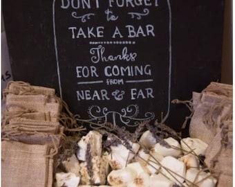Handmade soap Wedding favours