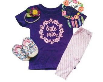 Little Sister Shirt, Little Sister, Little Sister Gifts,  Little Sister Outfit, Little Sister Shirt,