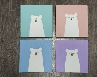 Kids Polar Bear Art