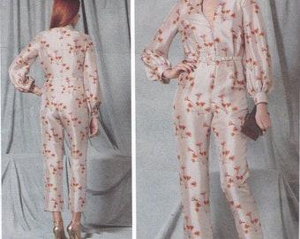 FREE US SHIP Vogue 1523 High Fashion Designer Rachel CoMey Jumpsuit romper Size 6/14 14/22 Bust 30.5 31.5 32 34 36 38 40 42 44 New