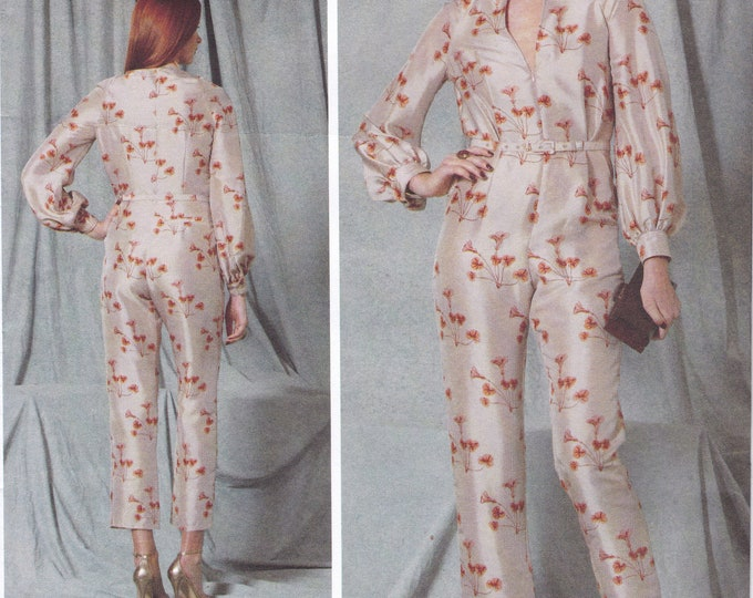 FREE US SHIP Vogue 1523 High Fashion Designer Rachel CoMey Jumpsuit romper Size 6/14 14/22 Bust 30.5 31.5 32 34 36 38 40 42 44 New