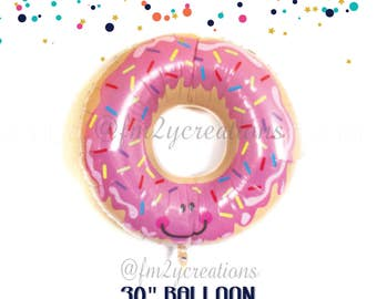 Donut Balloon | Donut Party | Donut Grow Up Party | Doughnut Balloon | Donut Bar Balloons | Donut Bar Banner | Donut Birthday Decorations