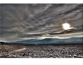 Exoplanet, Death Valley, Desert, Landscape, Travel, Giclée Print, Archival, Photograph, Color