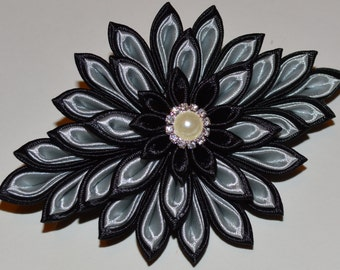 Handmade Girl's/Ladies French Barrette Hair Clip, Kanzashi, Party/Wedding