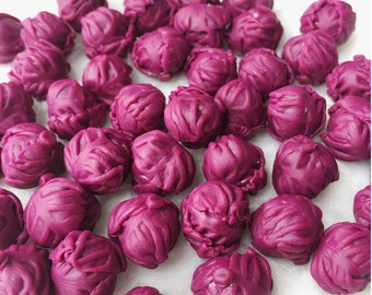 5/10 Pcs.Miniature Cabbage,Miniature Vegetable,Dollhouse Vegetablet,Dollhouse Cabbage,Miniature Fairy Garden,Green Cabbage