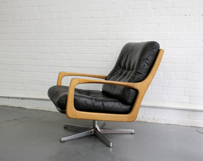 Mid Century Lounge Chair By Eugen Schmidt Circa 1960s
